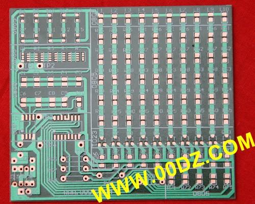 10路贴片流水灯控制电路(电子装配竞赛试题)