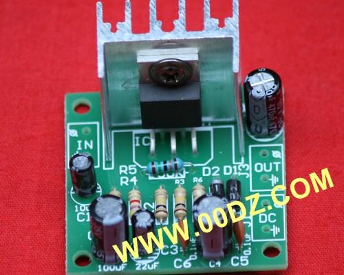 tda1512多旋钮功放电路板
